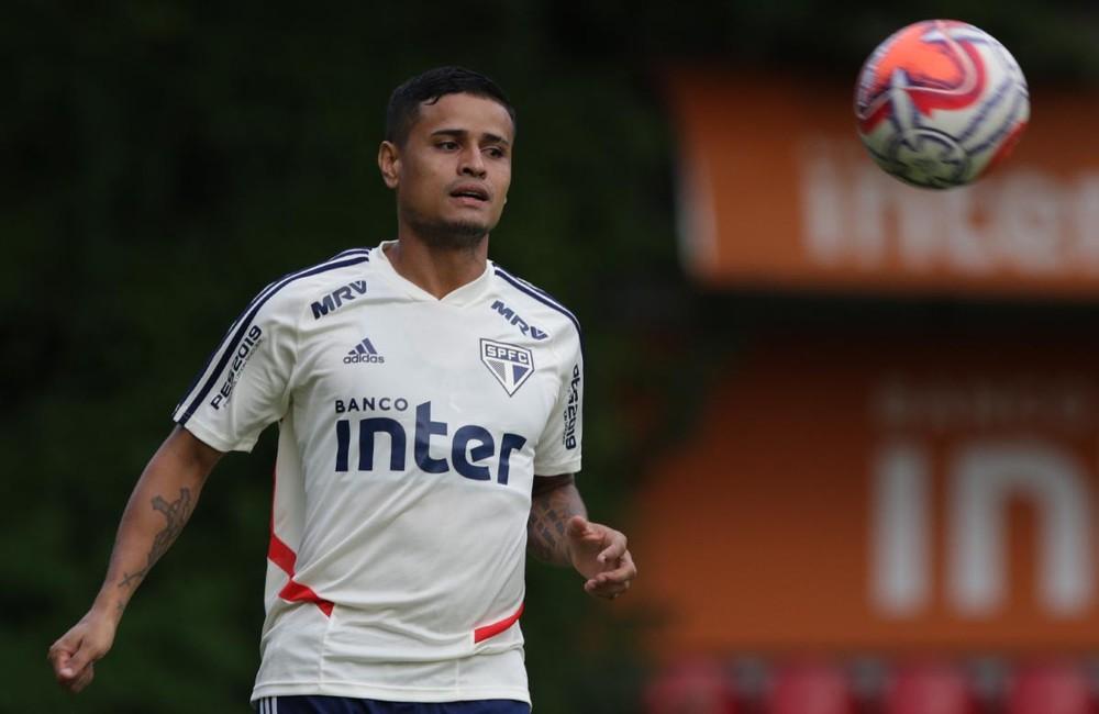 Everton desfalca o São Paulo para partida que faz parte do concurso 855 da Loteca. Crédito: Rubens Chiri / São Paulo FC