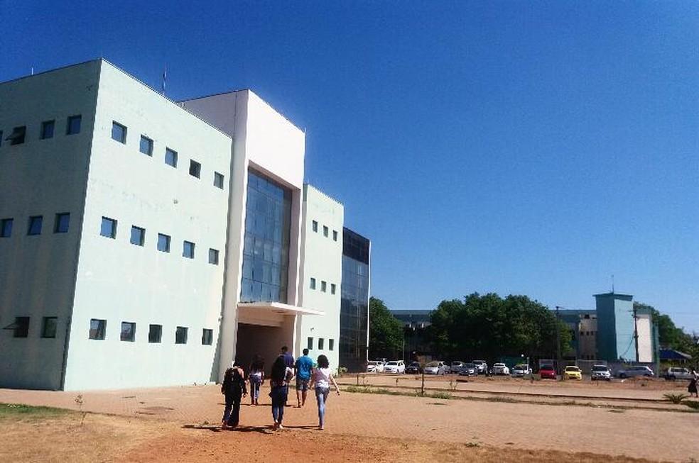 Vagas são para quase todos os cursos da UFT  (Foto: Letícia Queiroz/G1 Tocantins)