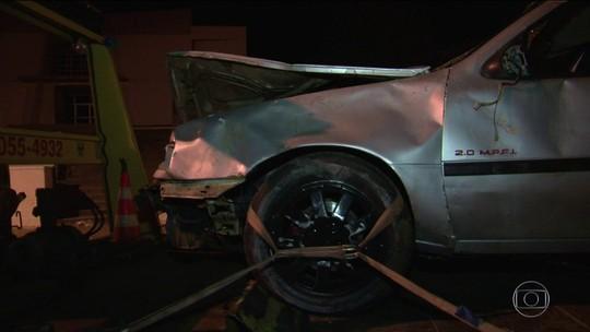 Motorista que atropelou grupo de pessoas estava bêbado, afirma polícia