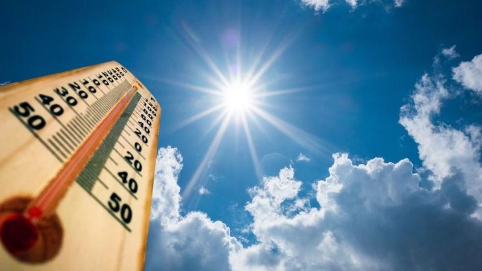 A cidade de São Paulo bateu recorde de calor nessa quarta-feira — Foto: Getty Images via BBC