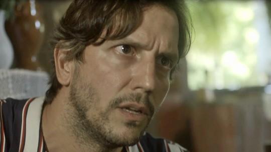 Remy fica passado ao descobrir que Valentim é filho de Luzia
