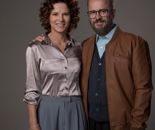 Vera Zimmermann e Leonardo Medeiros como o casal Richthofen   Stella Carvalho