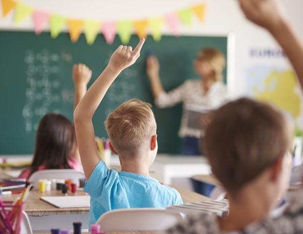 escola_aluno_criança_professor_educação (Foto: Thinkstock)