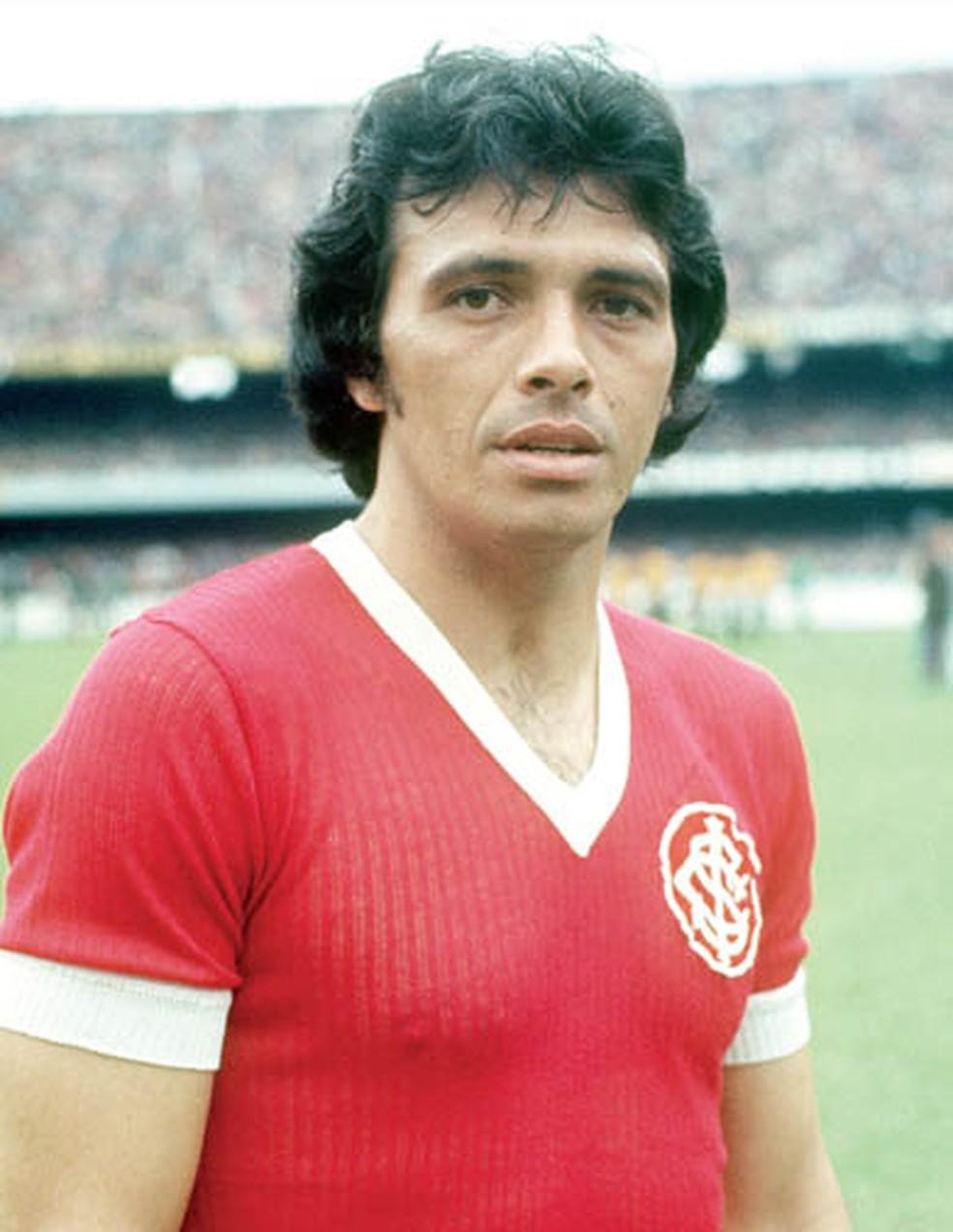 Figueroa nos tempos de Inter — Foto: Reprodução