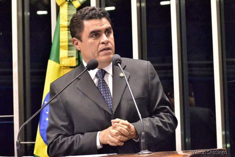 Deputado federal Wilson Santiago (PTB-PB), um dos alvos da operação Pés de Barro, da Polícia Federal — Foto: Divulgação