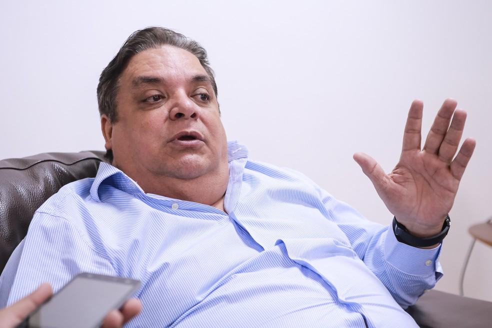 Gilmar Fabris (PSD) foi solto em outubro por ordem da Assembleia Legislativa de Mato Grosso (Foto: Marcos Lopes, ALMT)