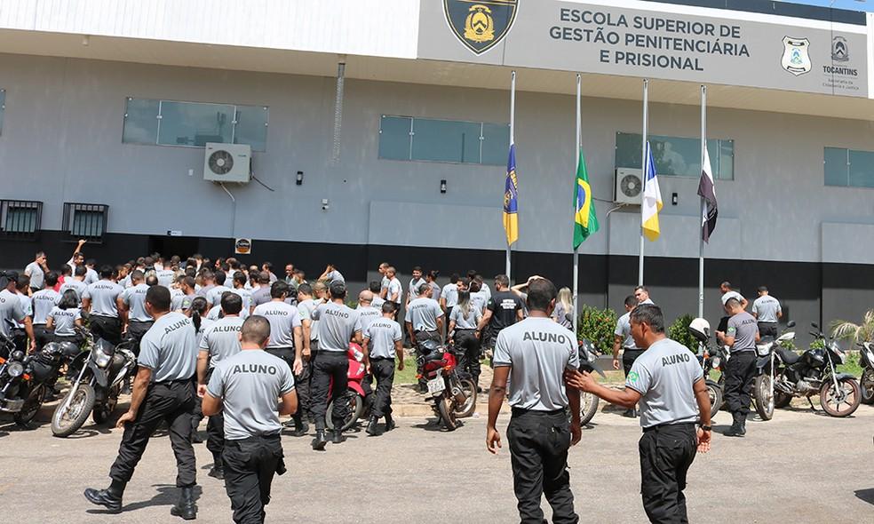 Candidatos aprovados foram chamados para tomar posse — Foto: Governo do Tocantins/Divulgação