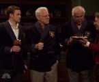 Justin Timberlake, Steve Martin, Chevy Chase e Martin Short. Integrantes do seleto clube dos que já apresentaram a atração cinco vezes | NBC
