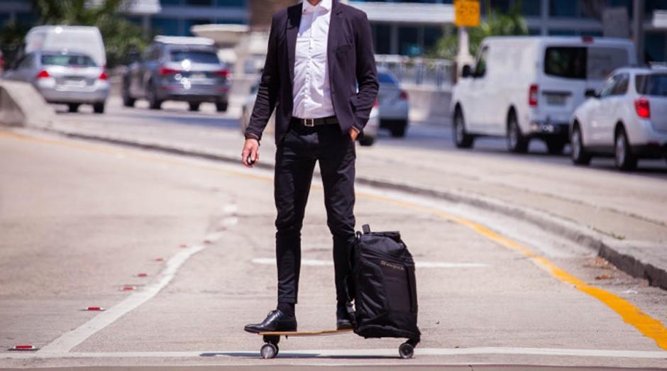 skate, mochila, startup (Foto: Divulgação)