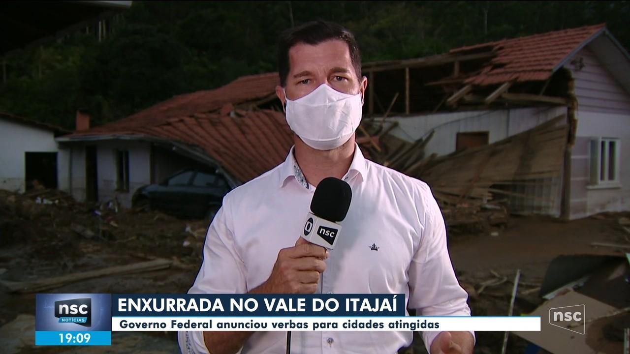 Secretário nacional de Defesa Civil vai a Rio do Sul após enxurrada