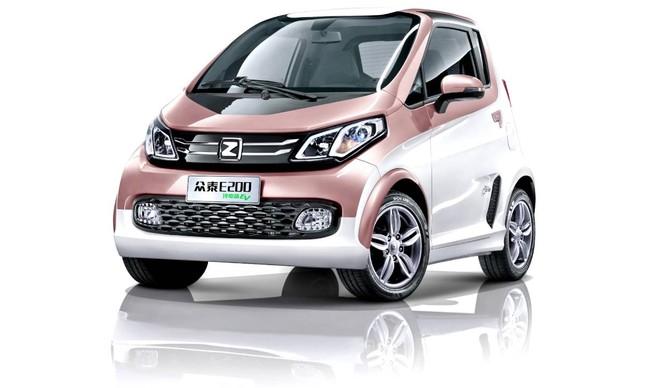 Zotye-e - carro elétrico chinês