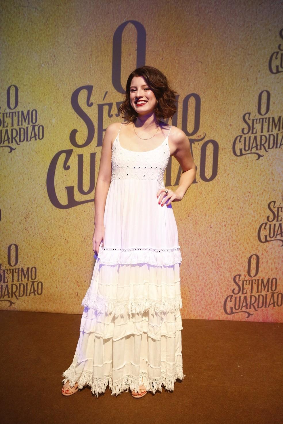 Giulia Gayoso interpretará a jovem Rivalda — Foto: Fabiano Battaglin/Gshow