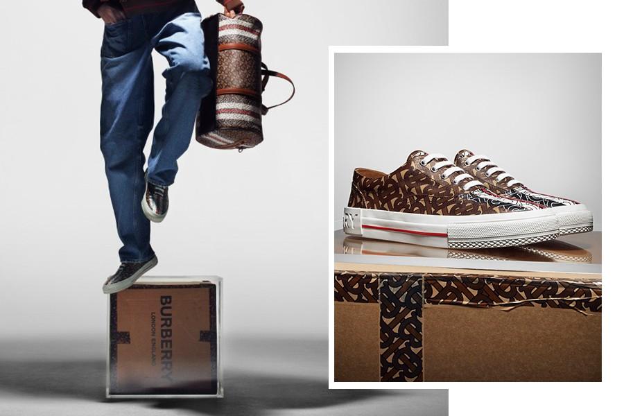 O tênis de luxo apresenta uma silhueta de cano baixo e estética casual, elegante e versátil (Foto: divulgação)