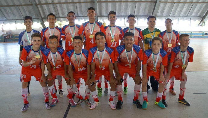 Jerns 2016 - Final futsal juvenil masculino Encanto Potengi x Expansivo - Caic de Lagoa Nova (Foto: Augusto Gomes/GloboEsporte.com)