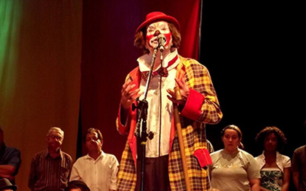 Roger Avanzi, o Palhaço Picolino, morreu em São Paulo aos 96 anos — Foto: Divulgação/Centro de Memória do Circo