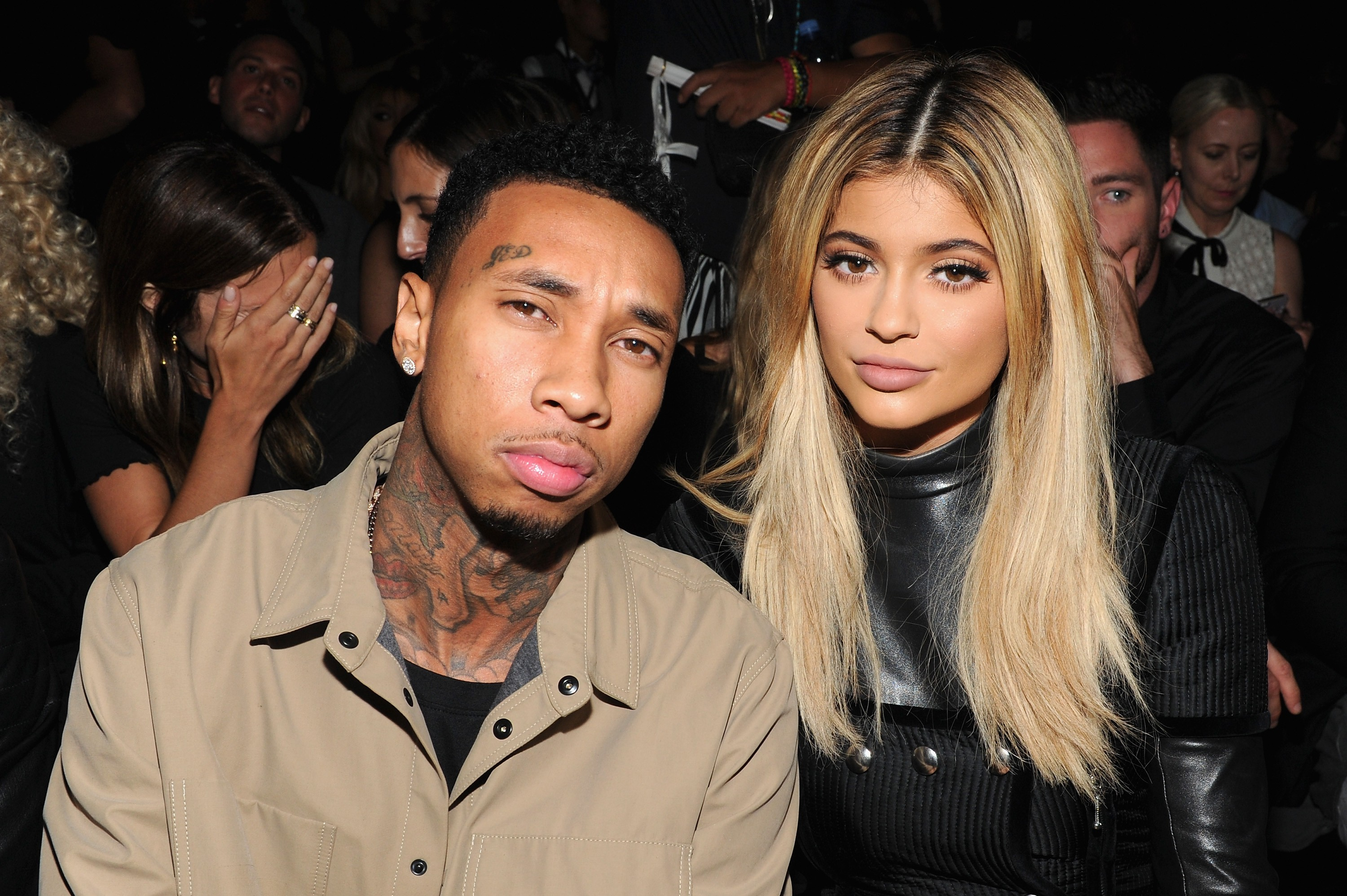 Kylie e Tyga (Foto: Getty Images)