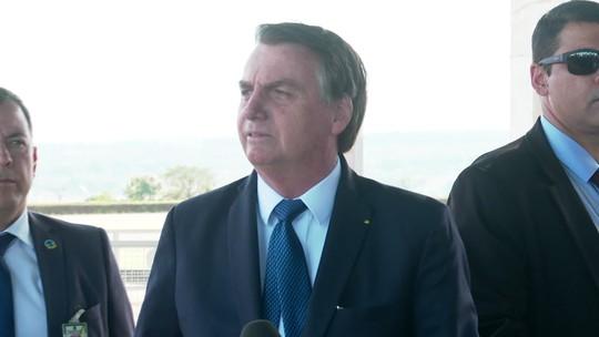 Bolsonaro espera ajuda de Trump e ligação de Merkel sobre Amazônia