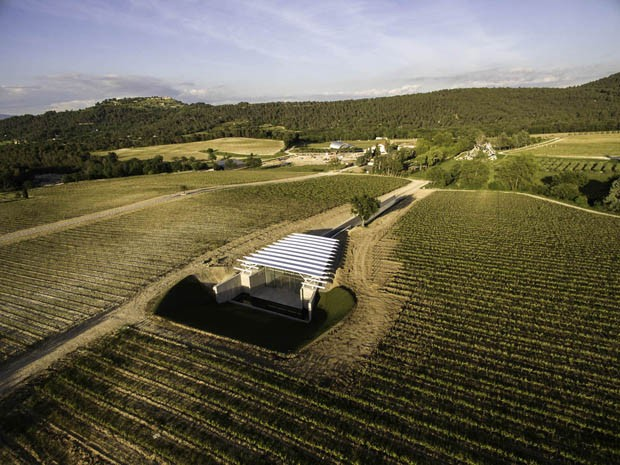 New Pavilion by Renzo Piano in Chateau La Coste (Foto:  )