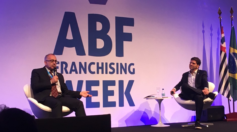 Presidente da ABF, Altino Cristofoletti Junior, e o vice-presidente da entidade, André Friedheim (Foto: Editora Globo/Carina Brito)