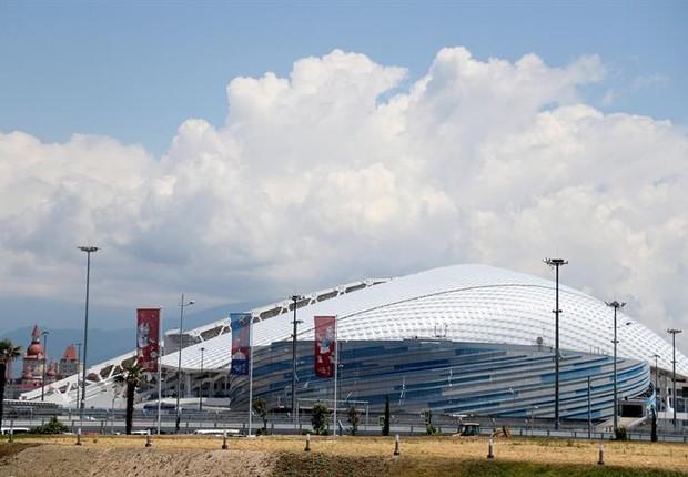 Copa do Mundo 2018:  visão geral do estádio Fisht, em Sochi, na Rússia (Foto: EFE/EPA/FRIEDEMANN VOGEL)