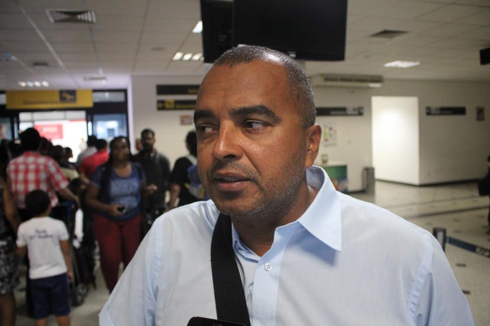 Ricardo Pereira, diretor de futebol do Altos (Foto: Wenner Tito/GloboEsporte.com)