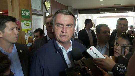 Bolsonaro volta a criticar dados do Inpe sobre o desmatamento no Brasil