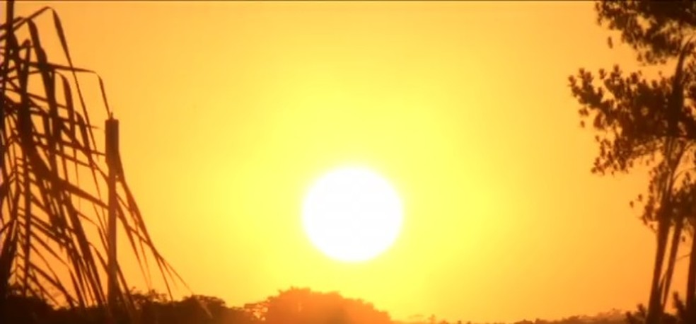 Em 2019, verão teve calor acima da média — Foto: Reprodução/TV Rio Sul