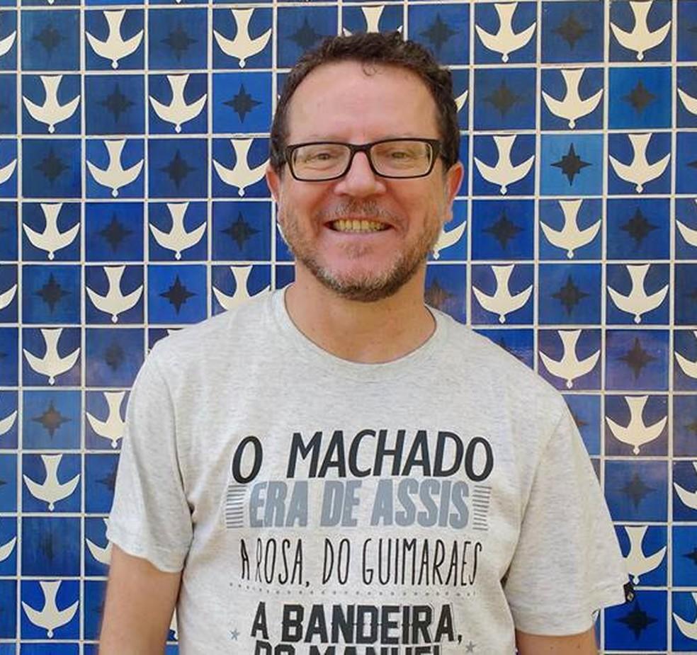 Caio Riter (Foto: Divulgação/Câmara do Livro)