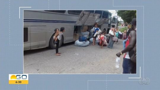 Ônibus clandestino transportando mercadorias sem nota fiscal é apreendido em Porangatu