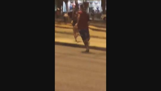 Torcedores do Cruzeiro invadem hotel na Pampulha e brigam com argentinos em BH
