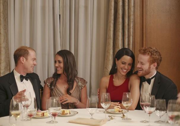 Imagem do filme 'Harry & Meghan: A Royal Romance' (Foto: Divulgação)