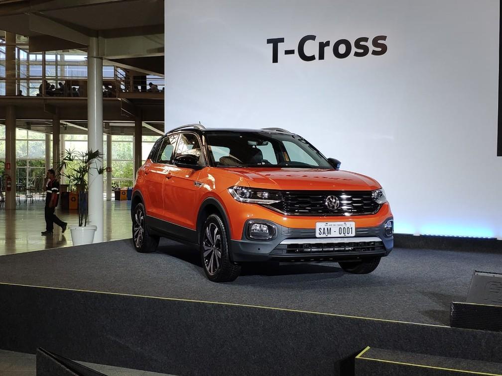 Volkswagen Lanca T Cross No Brasil De R 84 990 A R 109 990 Compare Com Rivais Auto Esporte G1