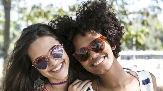 Juliana Paiva e Jéssica Ellen são amigas dentro e fora de cena
