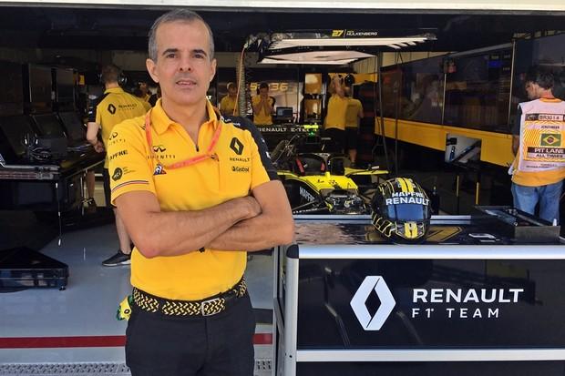 Renault F1 (Foto: André Schaun/Autoesporte)