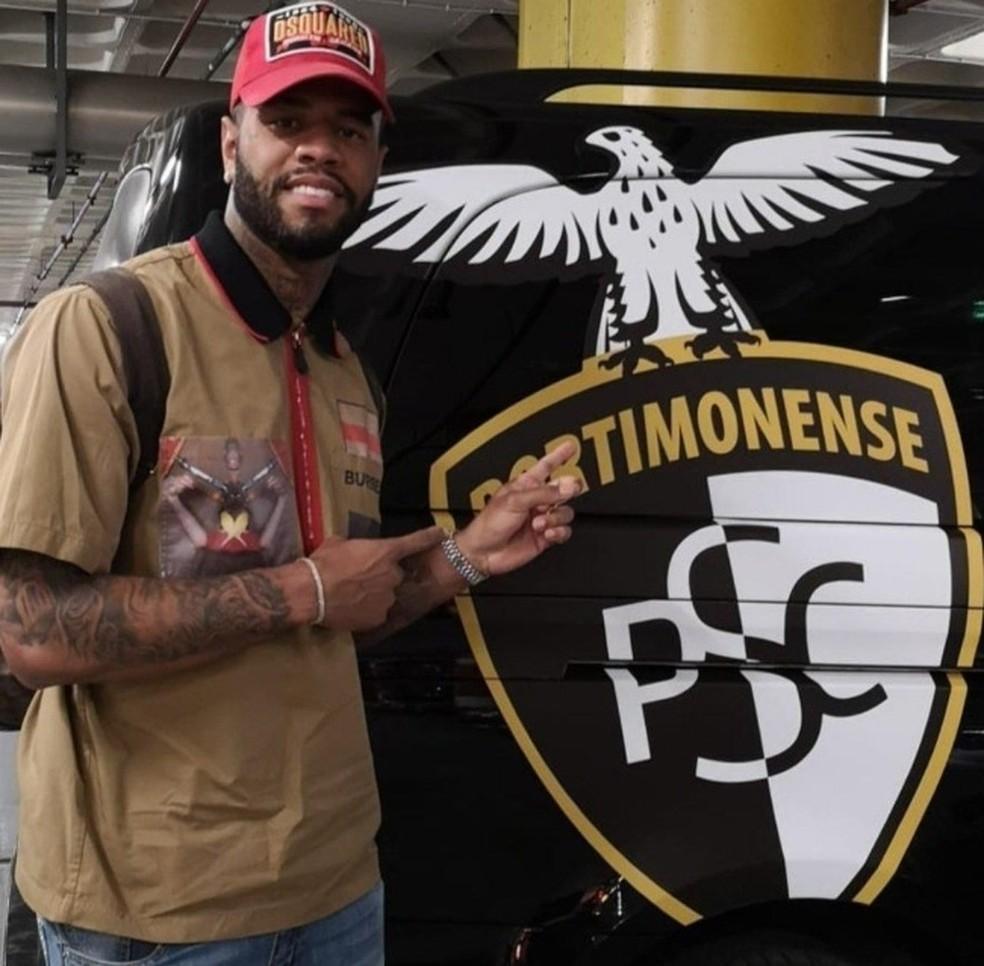 Júnior Tavares, do São Paulo, é emprestado ao Portimonense — Foto: Reprodução