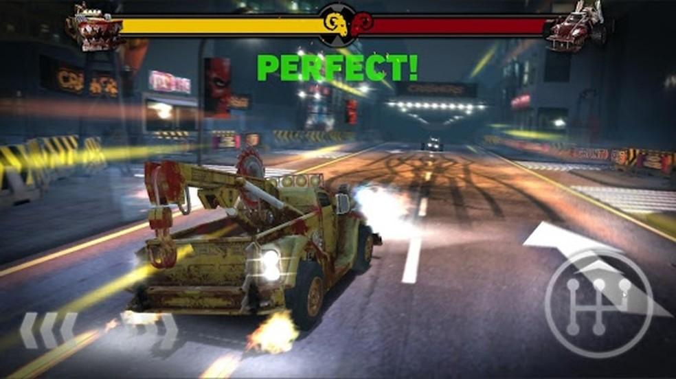 O novo game gratuito Carmageddon: Crashers perde um pouco da essência da série mas ainda diverte nos smartphones (Foto: Reprodução/Google Play)