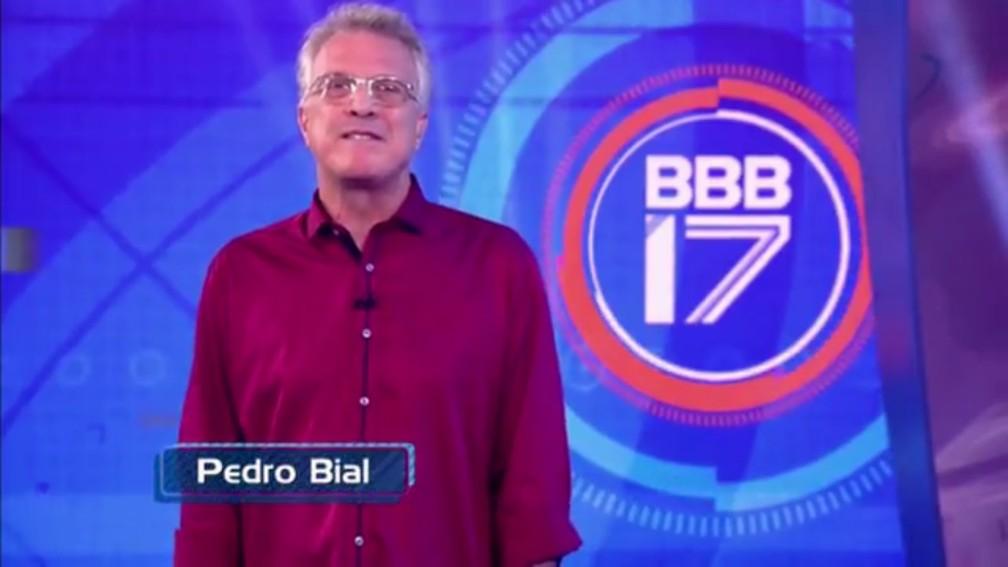 Pedro Bial  — Foto: RBS TV/Divulgação