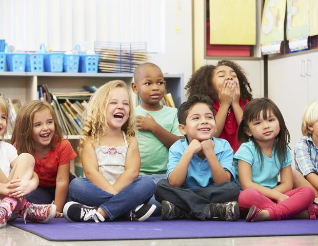escola; crianças (Foto: Thinkstock)