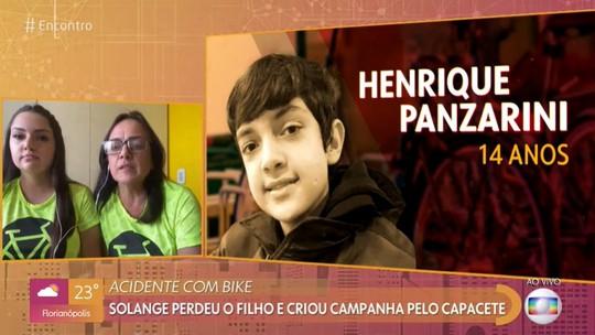 Mãe e irmã de ciclista vítima de atropelamento falam sobre campanha de conscientização criada em Ponta Grossa no 'Encontro'