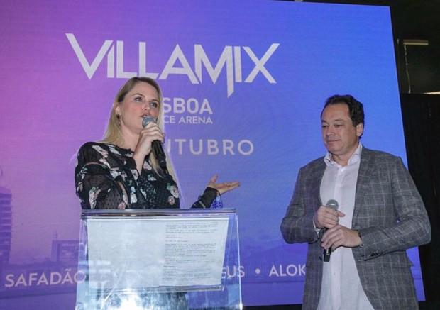 Susana Werner na coletiva do Villa Mix Festival em Lisboa, Portugal (Foto: Divulgação)