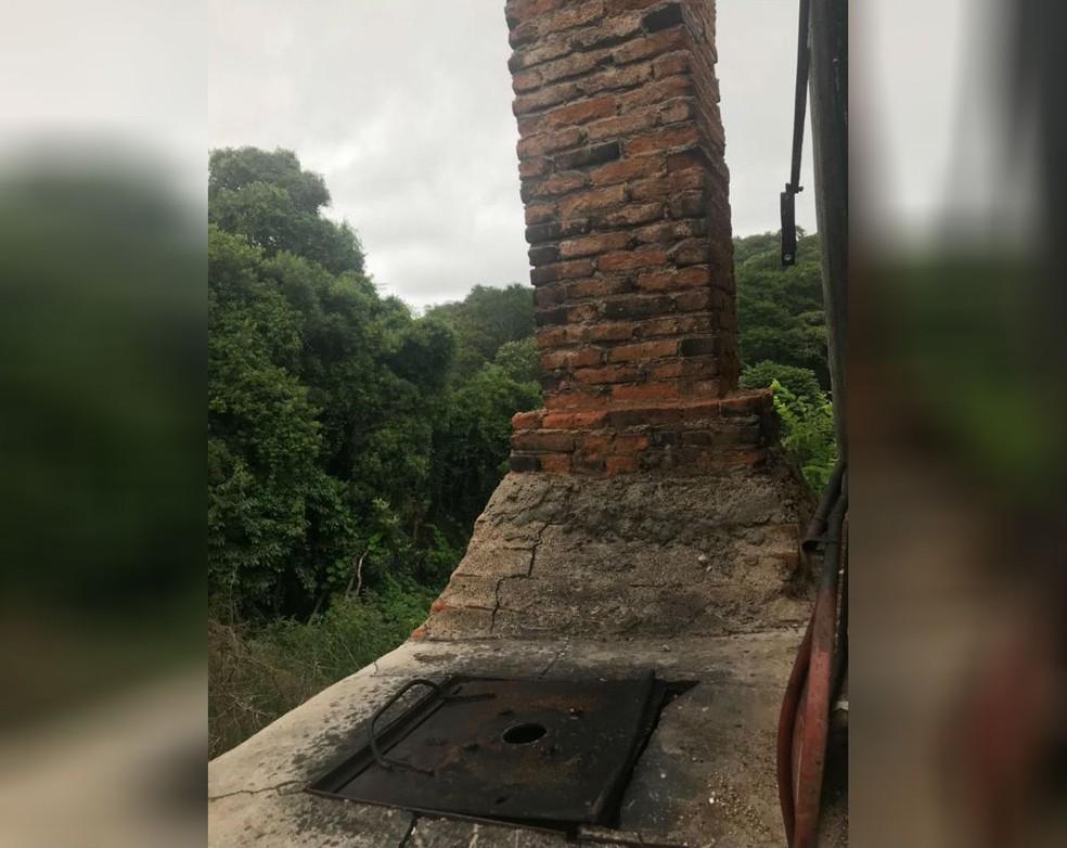 Canil fechado pela Polícia Ambiental com mais de 1,5 mil animais tinha local para incineração de cães — Foto: Luisa Mell/Arquivo Pessoal
