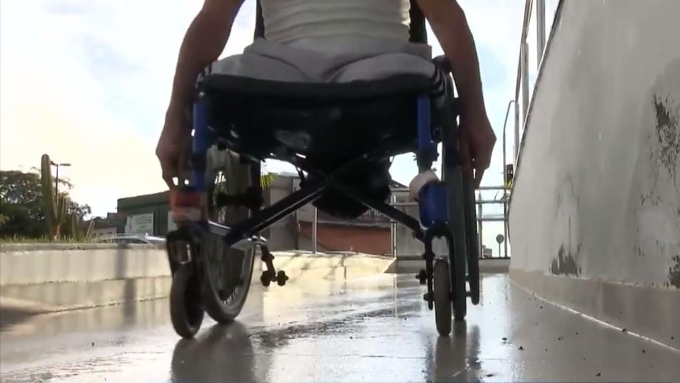 Mais de 300 denúncias de violações contra pessoas com deficiência, na Paraíba, foram registradas pelo Disque 100 — Foto: TV Paraíba/Reprodução
