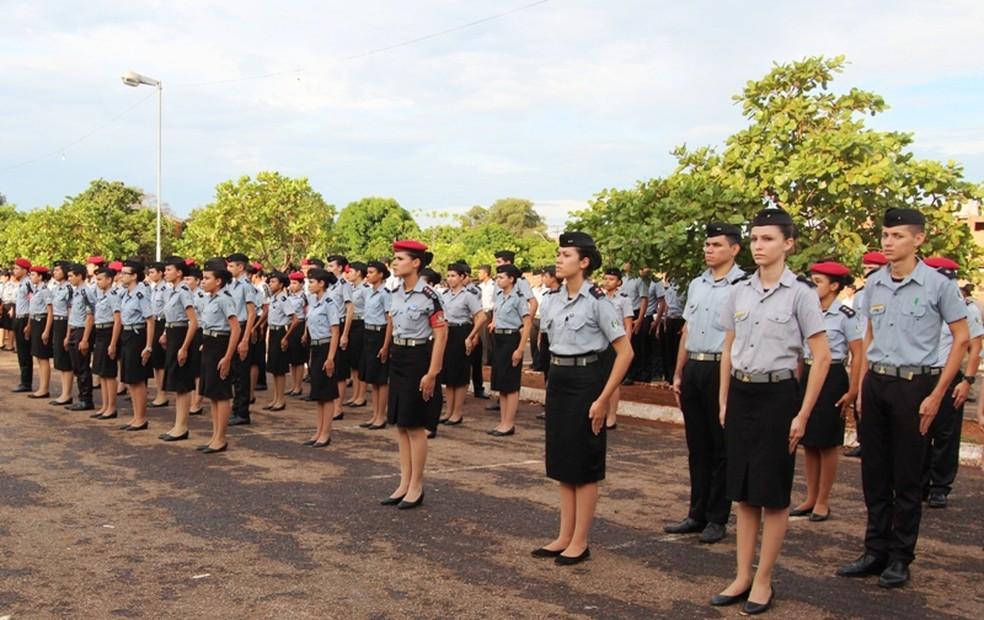 Processo seletivo de colegios militares será em dezembro — Foto: divulgação/Seduc-TO