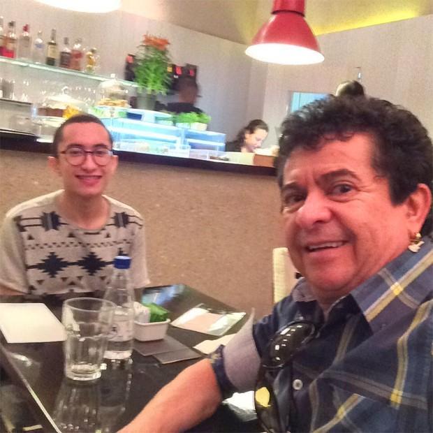 Gabriel e Solimões (Foto: Reprodução/Instagram)