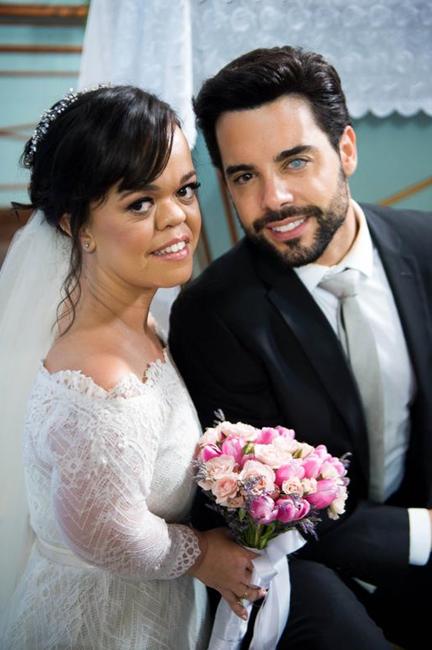 Juliana Caldas e Pedro Carvalho (Foto: Raquel Cunha/TV Globo)