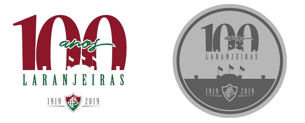 Aniversario De 100 Anos Do Estadio  Das Laranjeiras Tera Patch