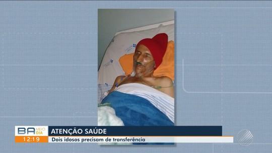 Dois idosos de Vitória da Conquista precisam transferência de hospital mas não conseguem
