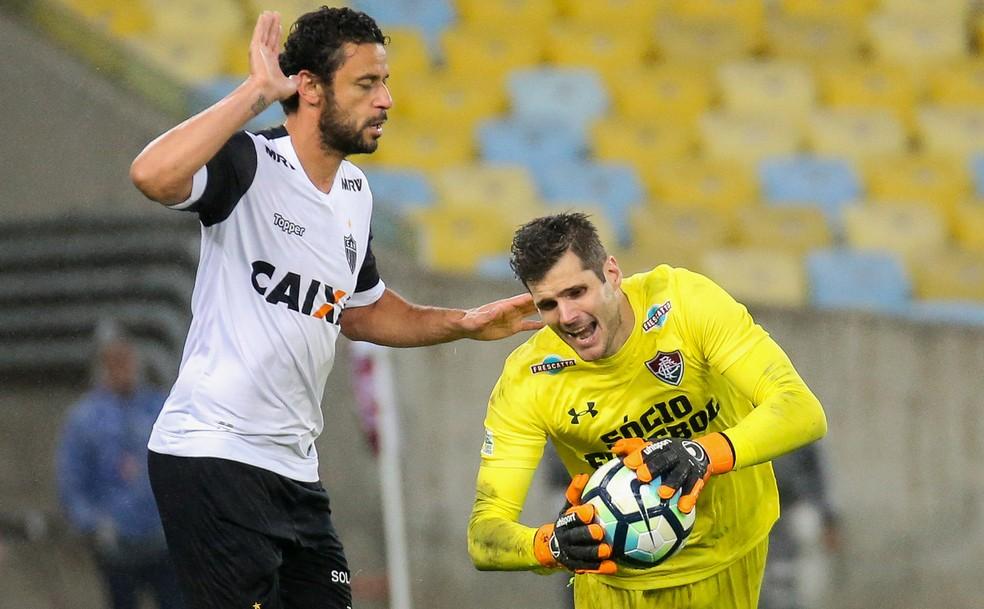Fred começou no banco de reservas, entrou no decorrer do jogo e teve atuação discreta contra o Fluminense (Foto: LUCAS MERÇON / FLUMINENSE F.C.)