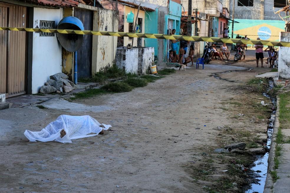 Homicídios no Ceará disparam durante motim de policiais militares — Foto: Helene Santos/G1