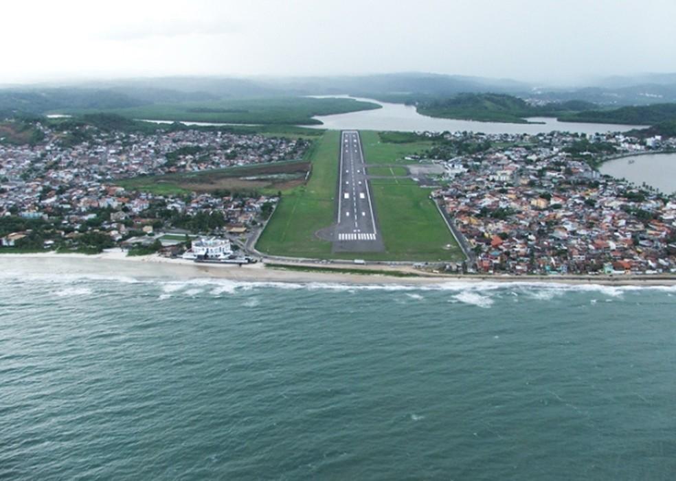 Aeroporto de Ilheus, na Bahia. (Foto: Reprodução/Infraero)